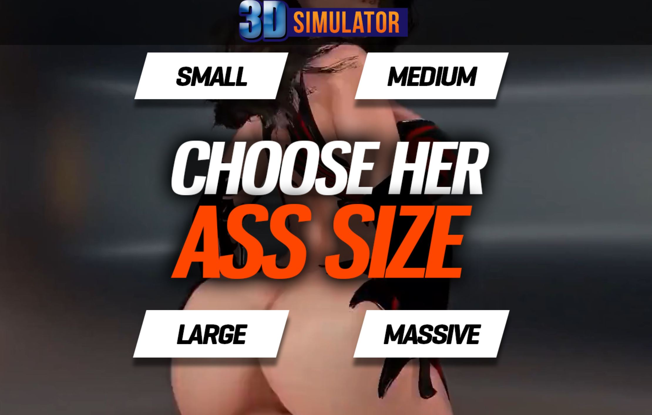 choose her ass size